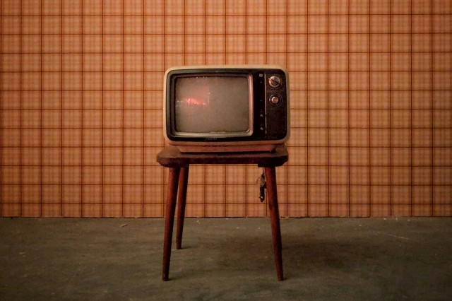 old analog television